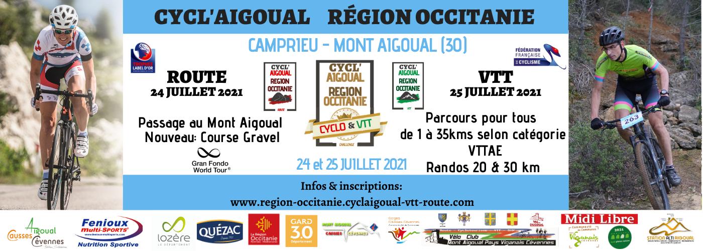 Cycl'Aigoual Région Occitanie
